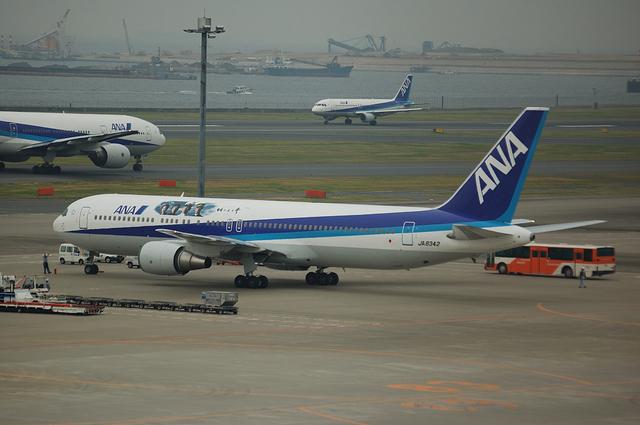 ANA 特殊塗装 Boeing767-300
