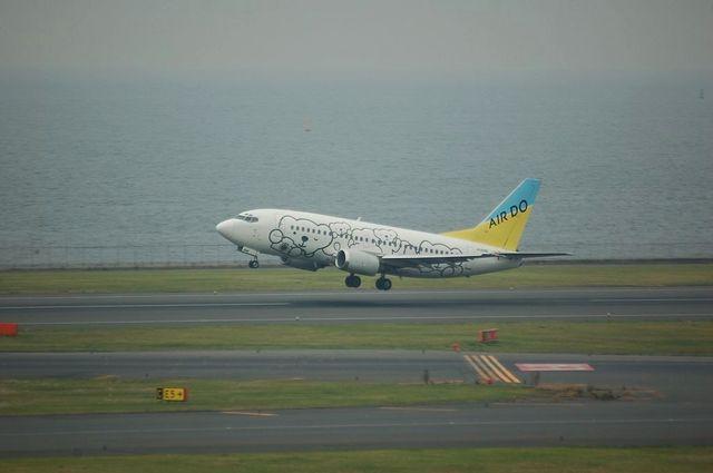 AIRDO ベアドゥ Boeing737-500 3
