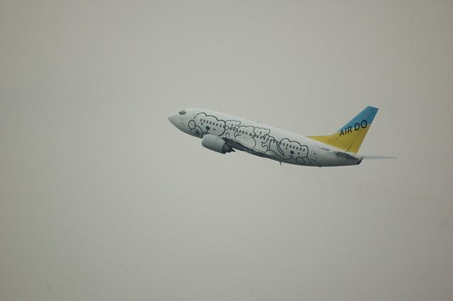 AIRDO ベアドゥ Boeing737-500 5