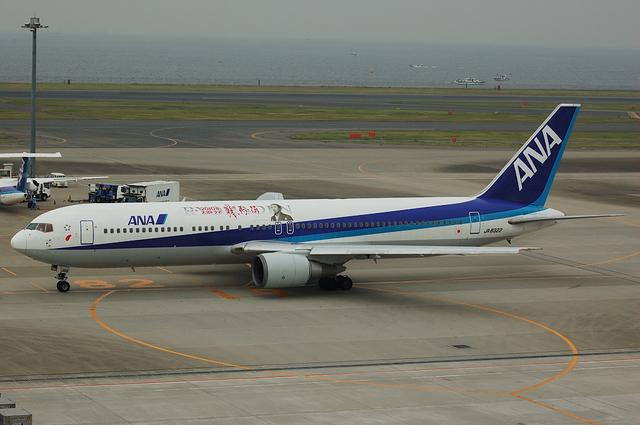 「龍馬伝」ラッピング Boeing767 3