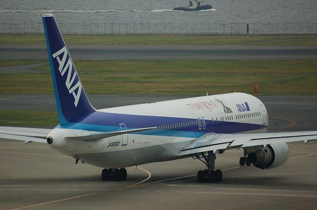 「龍馬伝」ラッピング Boeing767 5