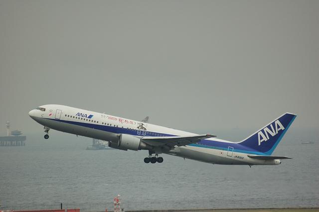 「龍馬伝」ラッピング Boeing767 7