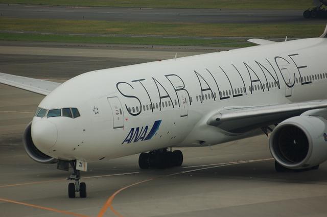 ANA Star Alliance Boeing777-200 1