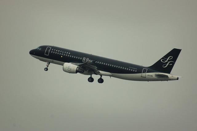スターフライヤー Airbus A320 ノーマル塗装 2