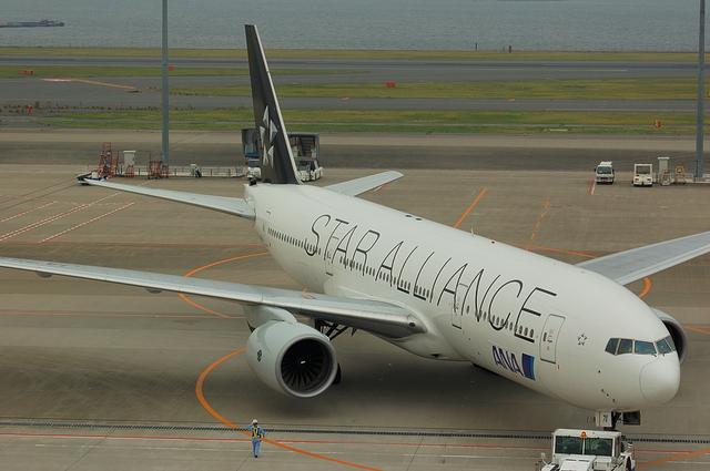 ANA Star Alliance Boeing777-200 4