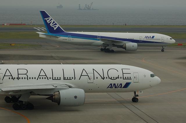 ANA Star Alliance Boeing777-200 5