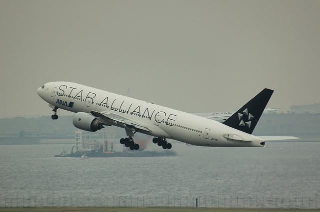 ANA Star Alliance Boeing777-200 8
