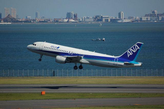 ANA Airbus A320 Rotation
