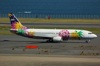 SNA Boeing737-400(JA737W)