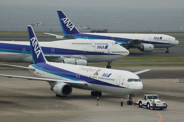 「龍馬伝」ラッピング Boeing767 2