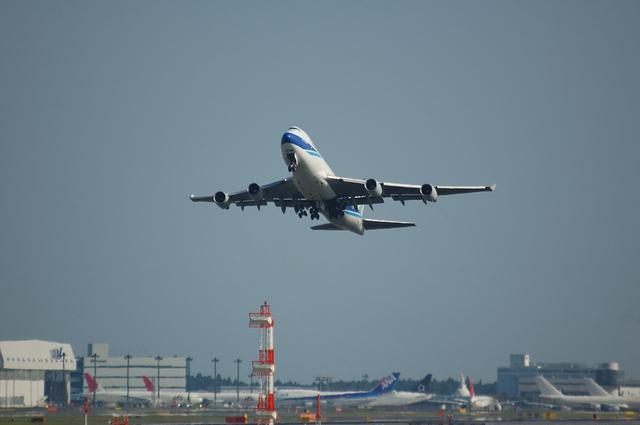 日本航空貨物のBoeing747-400F 1