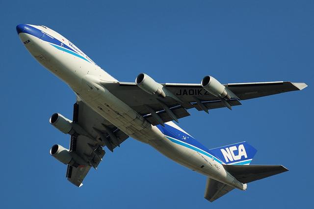 日本航空貨物のBoeing747-400F 2