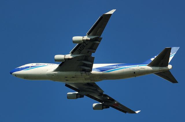 日本航空貨物のBoeing747-400F 3