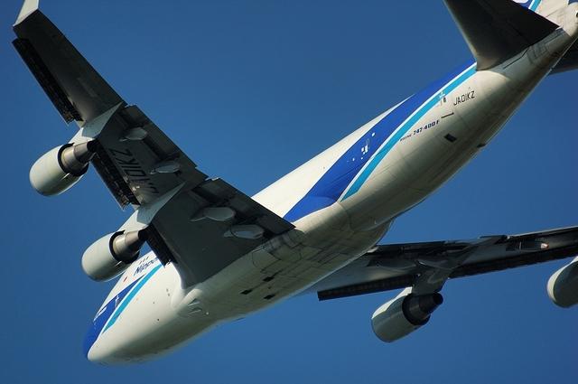 日本航空貨物のBoeing747-400F 4