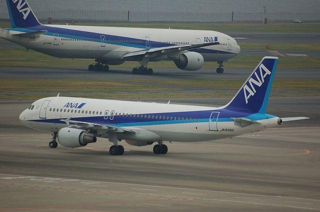 A320とB777