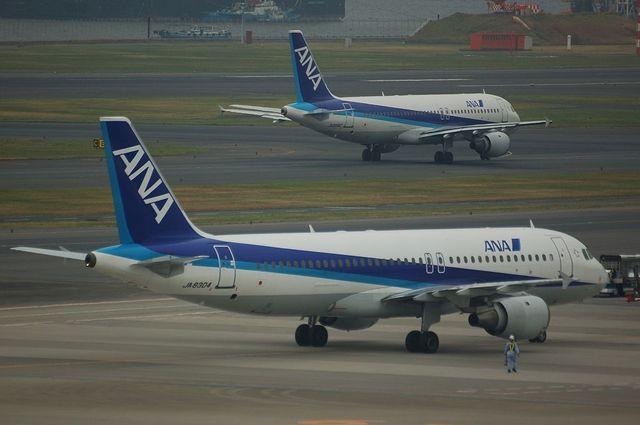 A320のツーショット