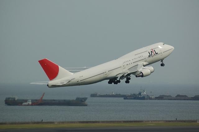 JAL Boeing747-400(JA8907)