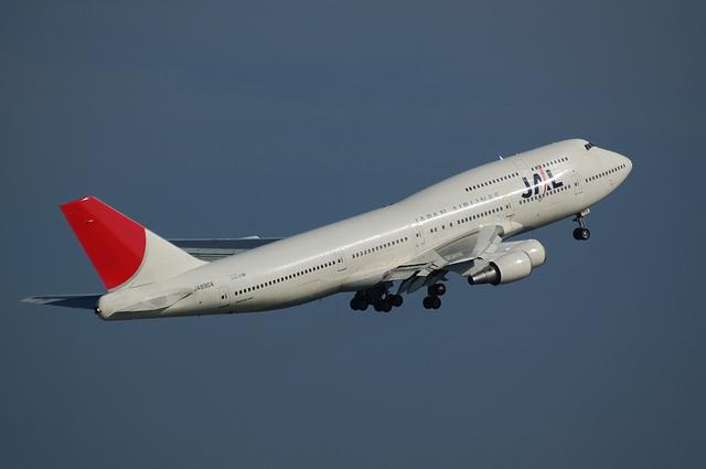 JAL Boeing747-400(JA8904)