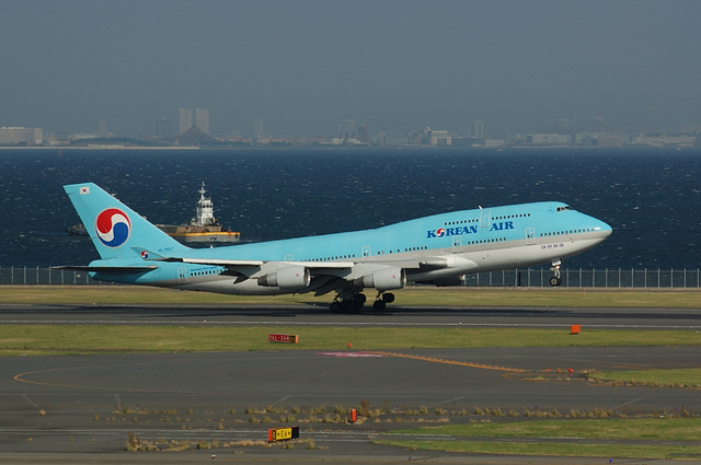 KOREAN AIR Boeing747-400(HL7607) 1