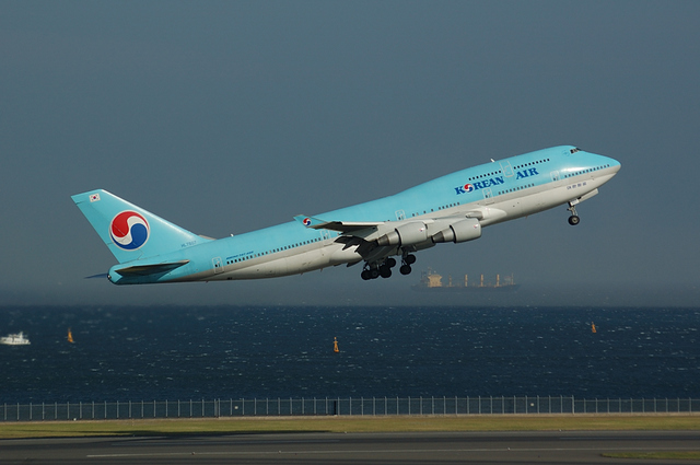 KOREAN AIR Boeing747-400(HL7607) 2