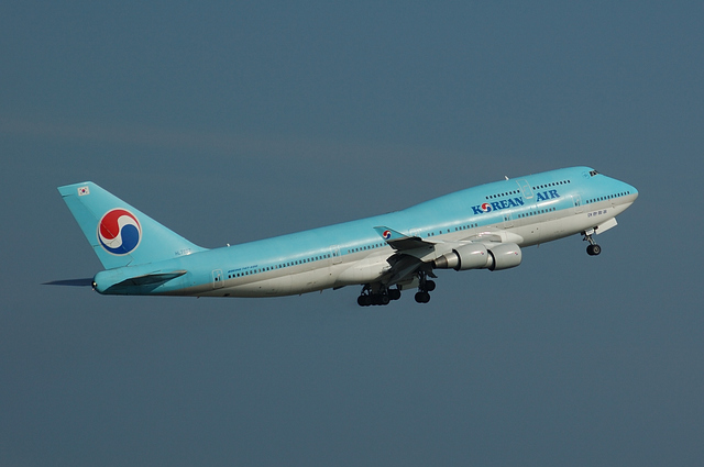 KOREAN AIR Boeing747-400(HL7607) 3
