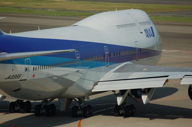 ANA Boeing747-400D(JA8966)