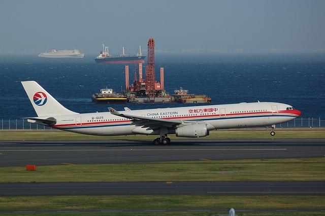 中国東方航空のAirbus A330-300 2