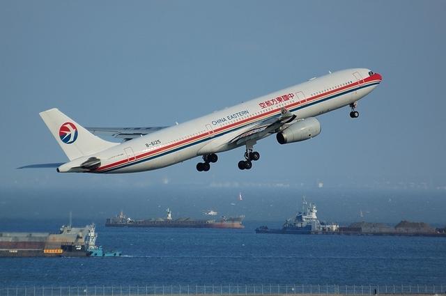 中国東方航空のAirbus A330-300 3
