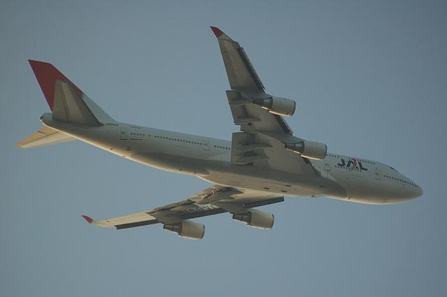 JAL Boeing747-400(JA8918)