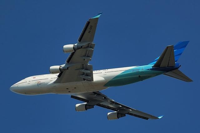 Garuda Indonesia Boeing747-400 2