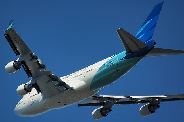 Garuda Indonesia Boeing747-400 3