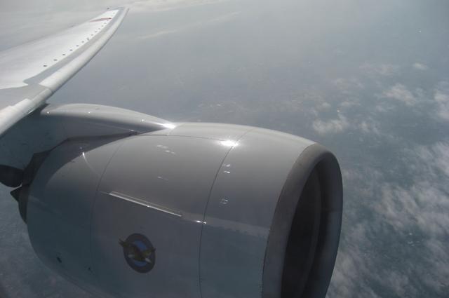 Boeing777のエンジン