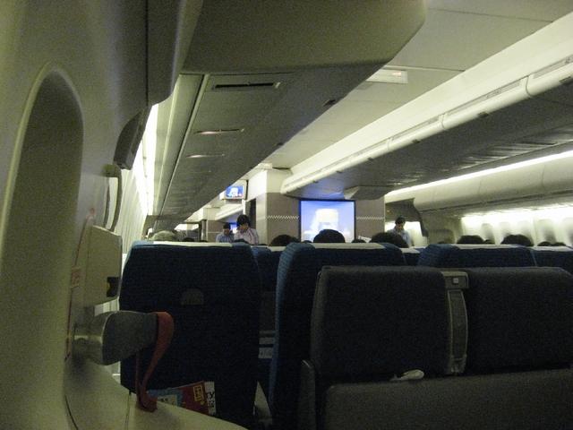 Boeing747の機内