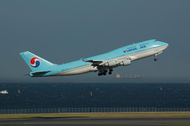 KOREAN AIR Boeing747-400(HL7607) 2