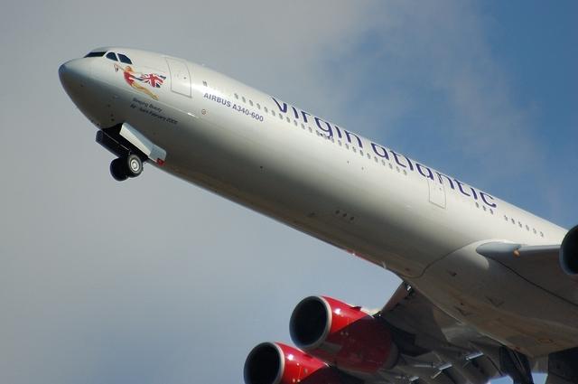 Virgin Atlantic Airbus A340-600 Sleeping Beauty
