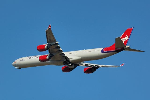 ヴァージンアトランティック航空 Airbus A340-600