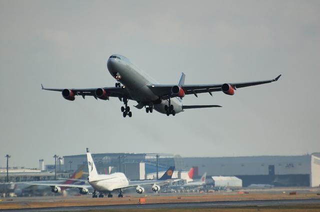 SAS Airbus A340-300 1
