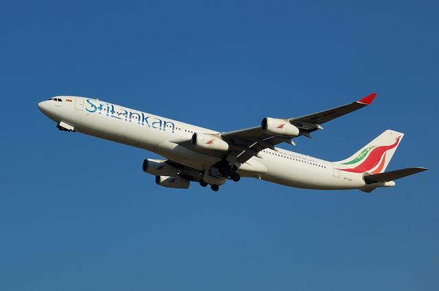 Airbus A340-300(4R-ADF)