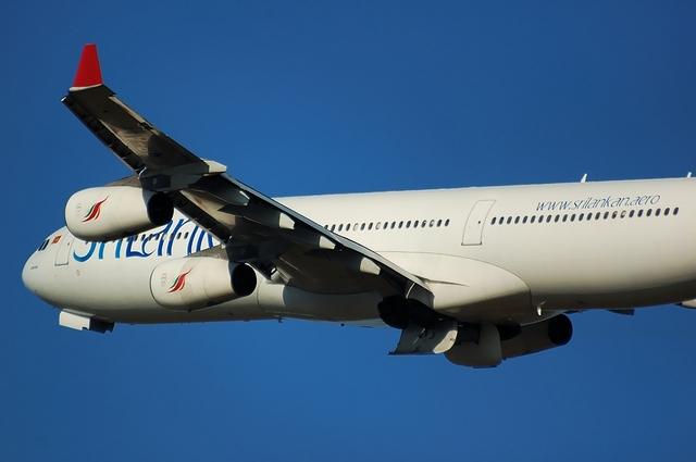 スリランカ航空 Airbus A340-400 アップ