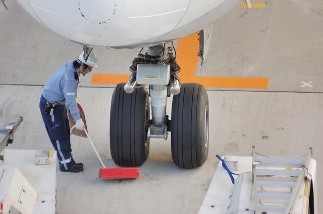 Boeing777 ノーズギア