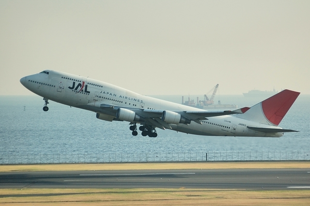 JAL Boeing747