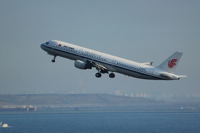 CA184 北京に向けて離陸