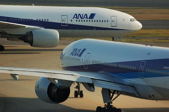 ANA Boeing777 ツーショット