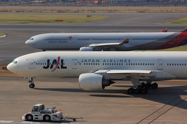 Boeing777とAirbus A330