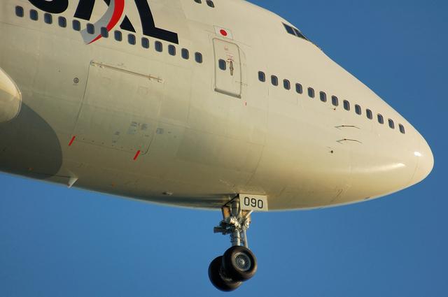 JAL Boeing747-400D 4
