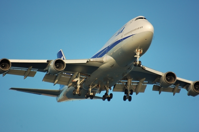 ANA Boeing747-400 2