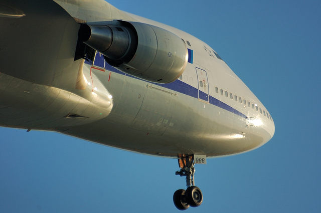 ANA Boeing747-400 4