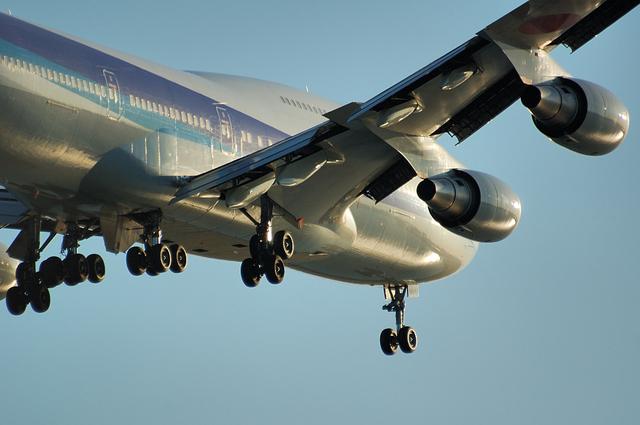 ANA Boeing747-400 5
