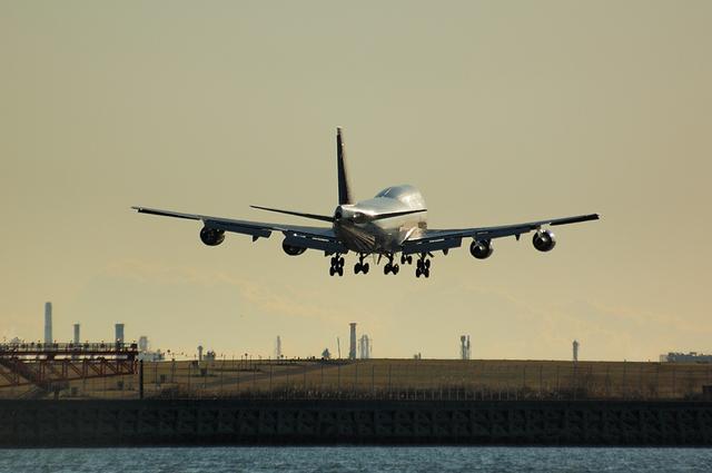 ANA Boeing747-400 7