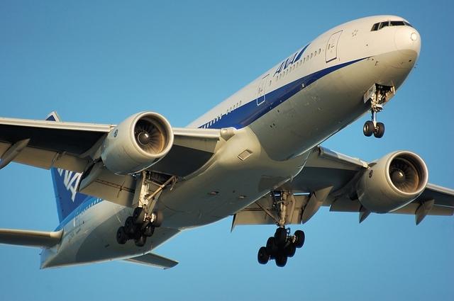 Boeing777-200 アプローチ 1